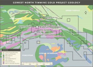 North Timmins Project Geology