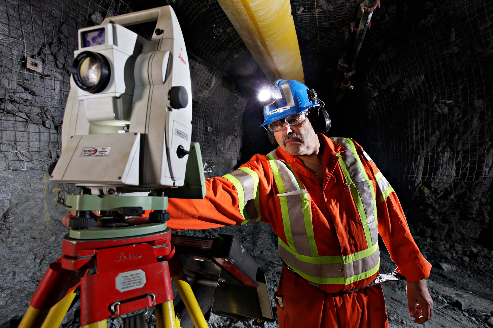 Cementation Underground Surveying