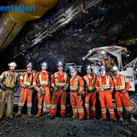 Cementation Underground Crew