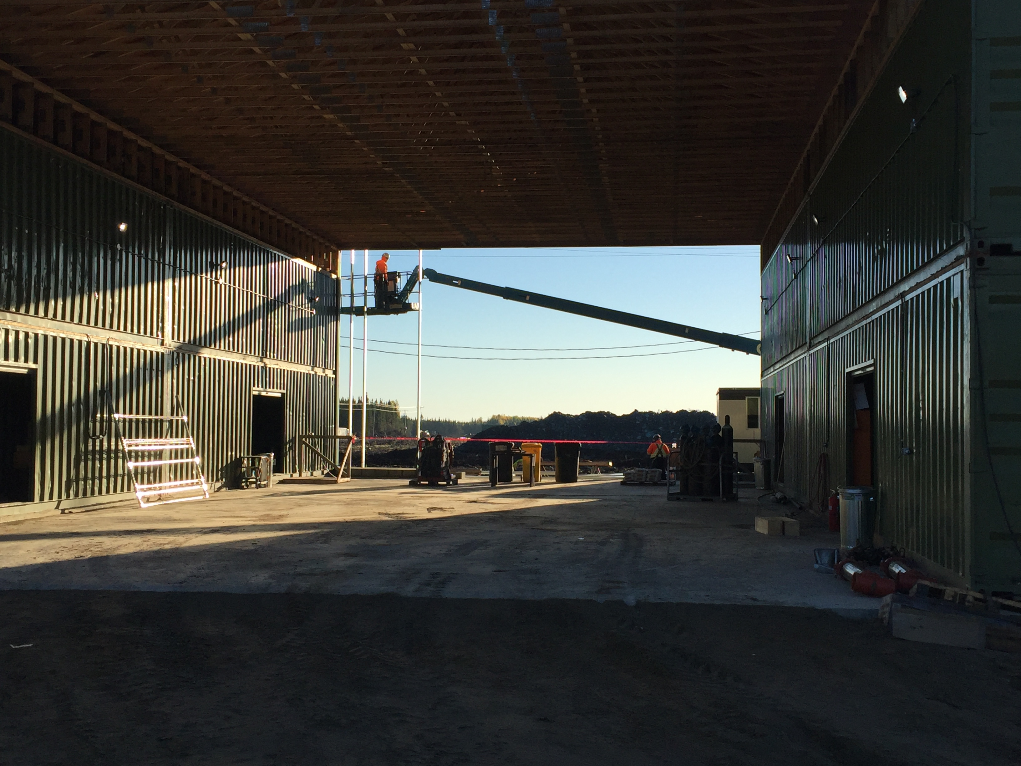Building New Storage Facility